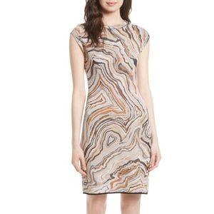 Fitted Missoni Geode Jacquard Dress